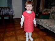 вяжем сами детское платье-сарафан