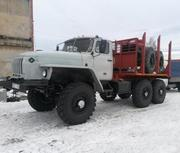 Лесовоз Урал 43204 с новой площадкой 2015
