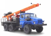 Буровая установка УРБ 2А2 + шаси УРАЛ