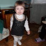 вяжем сами платье для девочки