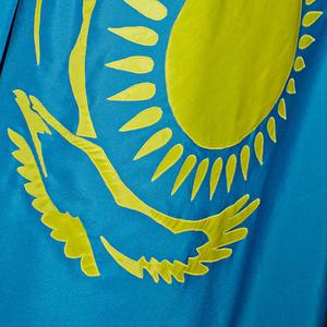 Флаг РК 1х2 м габардин