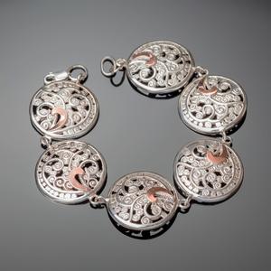 Украшения из серебра с золотом оптом. Серебряные изделия.