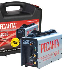 Сварочный аппарат Ресанта  САИ220 в кейсе  купить в Караганде