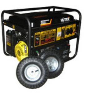 Электрогенератор бензиновый DY6500LX,  с колесами и аккумулятором