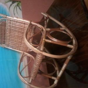 кресло-качалка детская плетенная