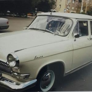 Ретро автомобиль ГАЗ-21