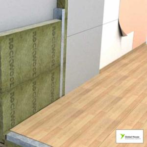 Утепление и звукоизоляция стен,  перегородок