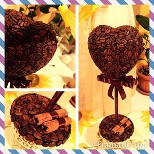 Топиарий из кофе дерево счастья на заказ Караганда